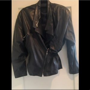 9bee426a Women Versace Leather Jacket on Poshmark